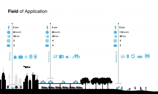 gemini singapore field of application