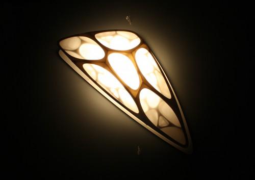 moos pavilion model 06 night lighting