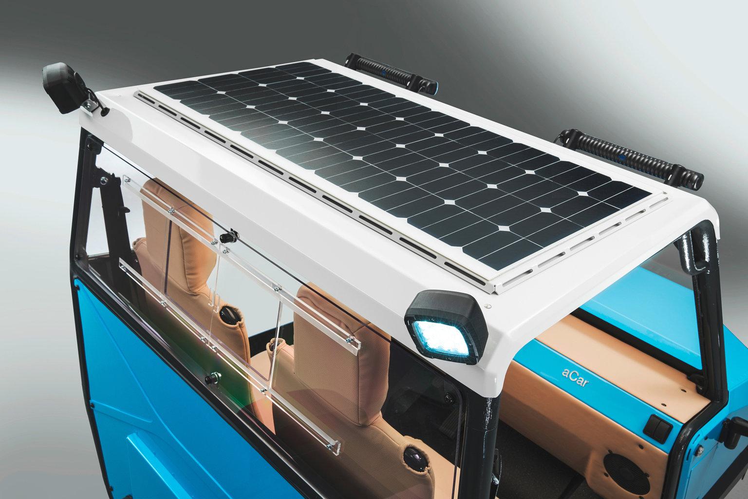 aCar Studio Dach solar