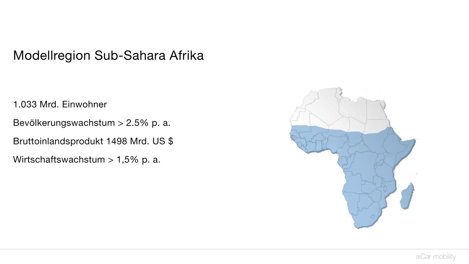 aCar Subsahara-Afrika