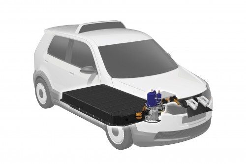 EVA charging battery
