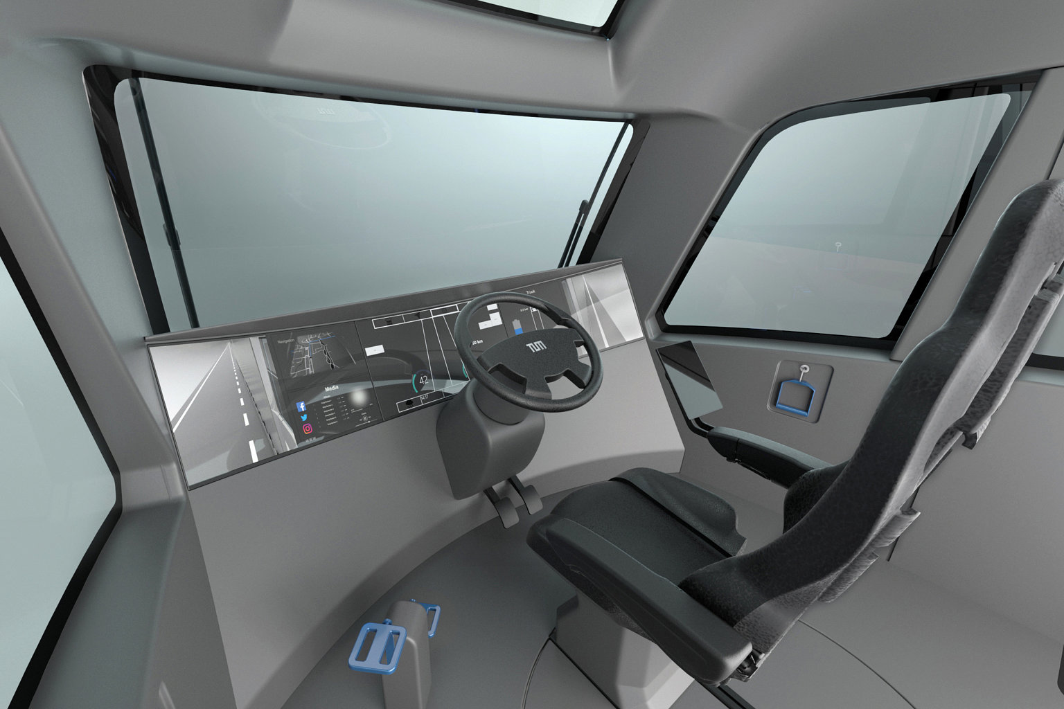 Truck 2030 interior perspektive