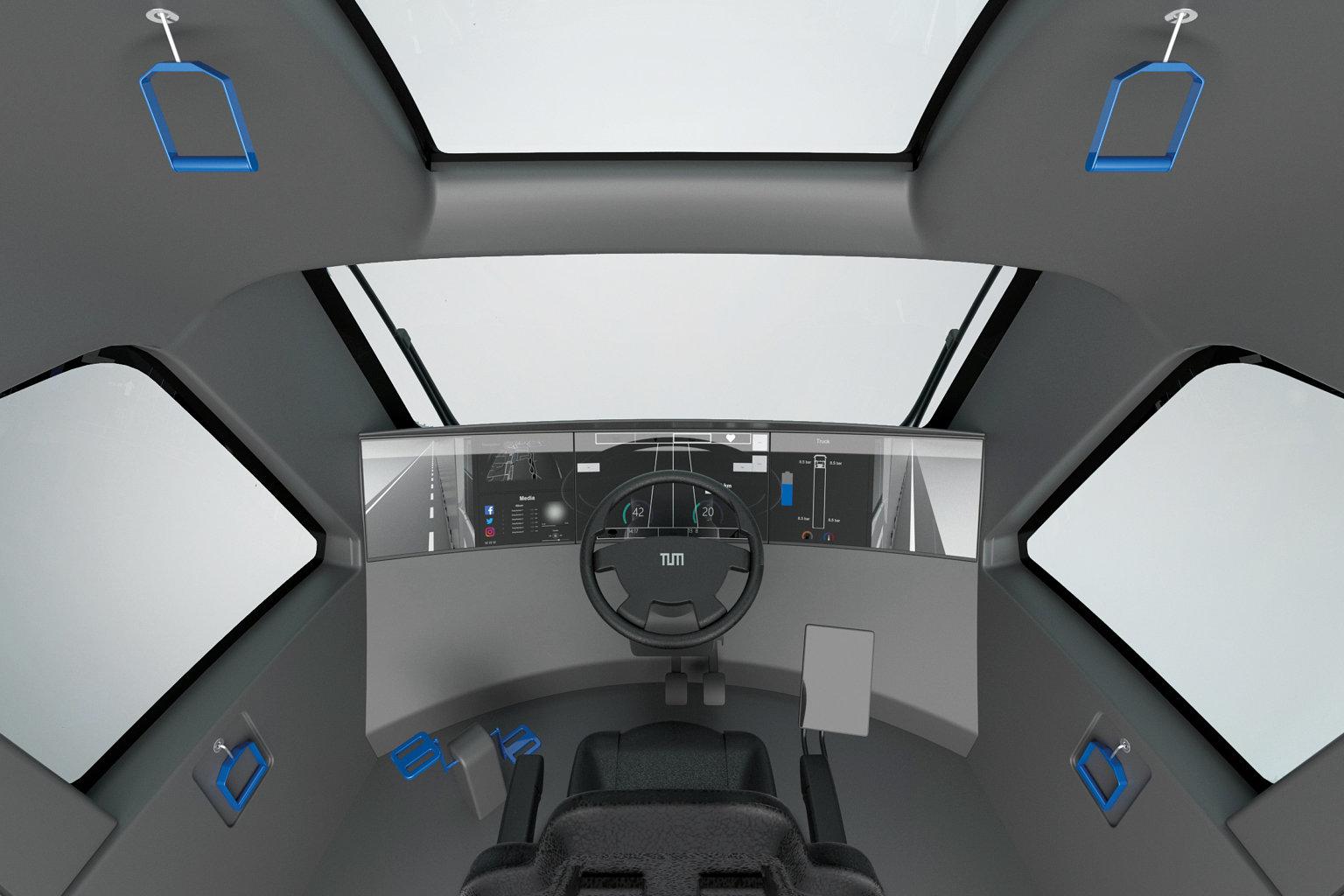 Truck 2030 interior