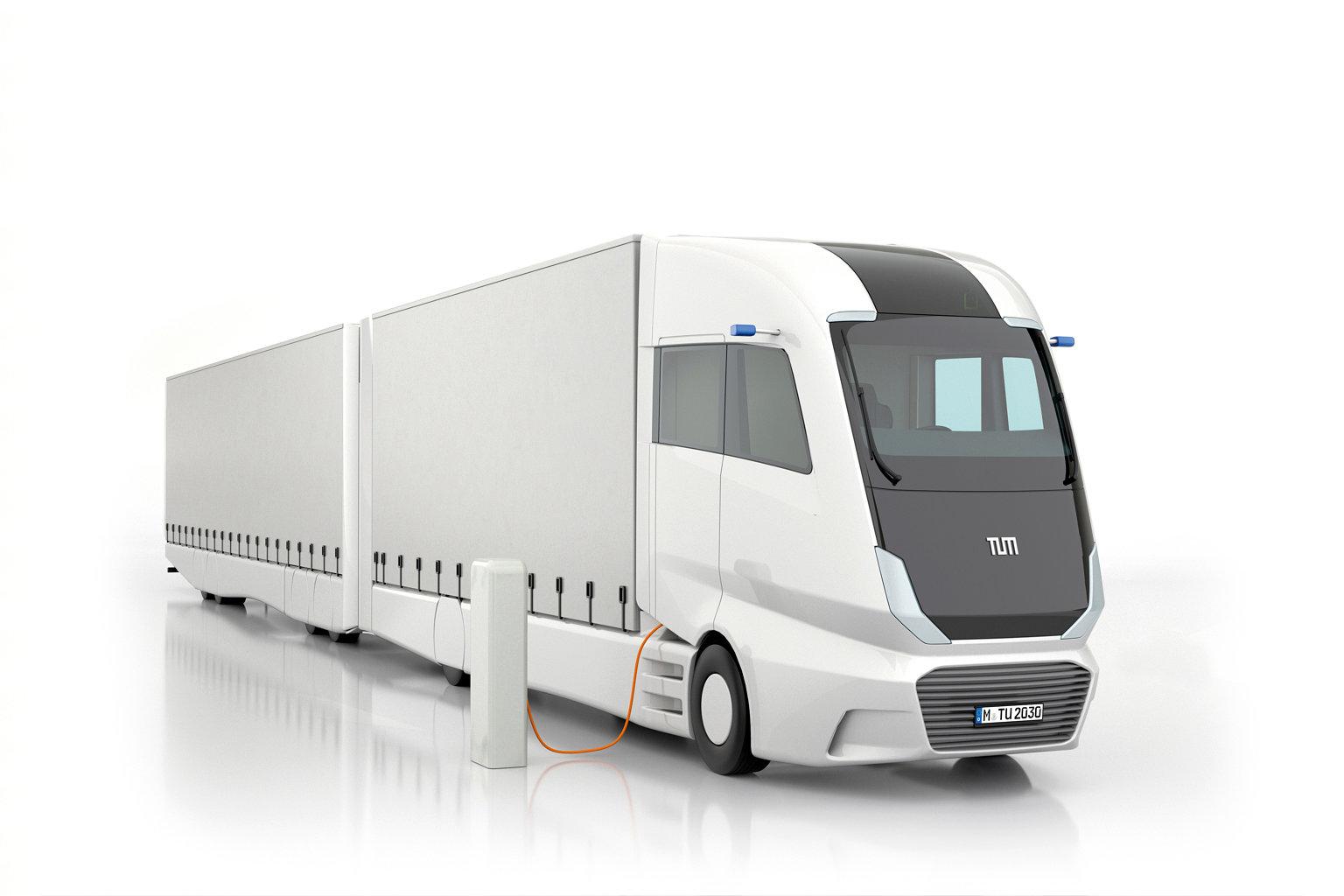 Truck 2030 Laden