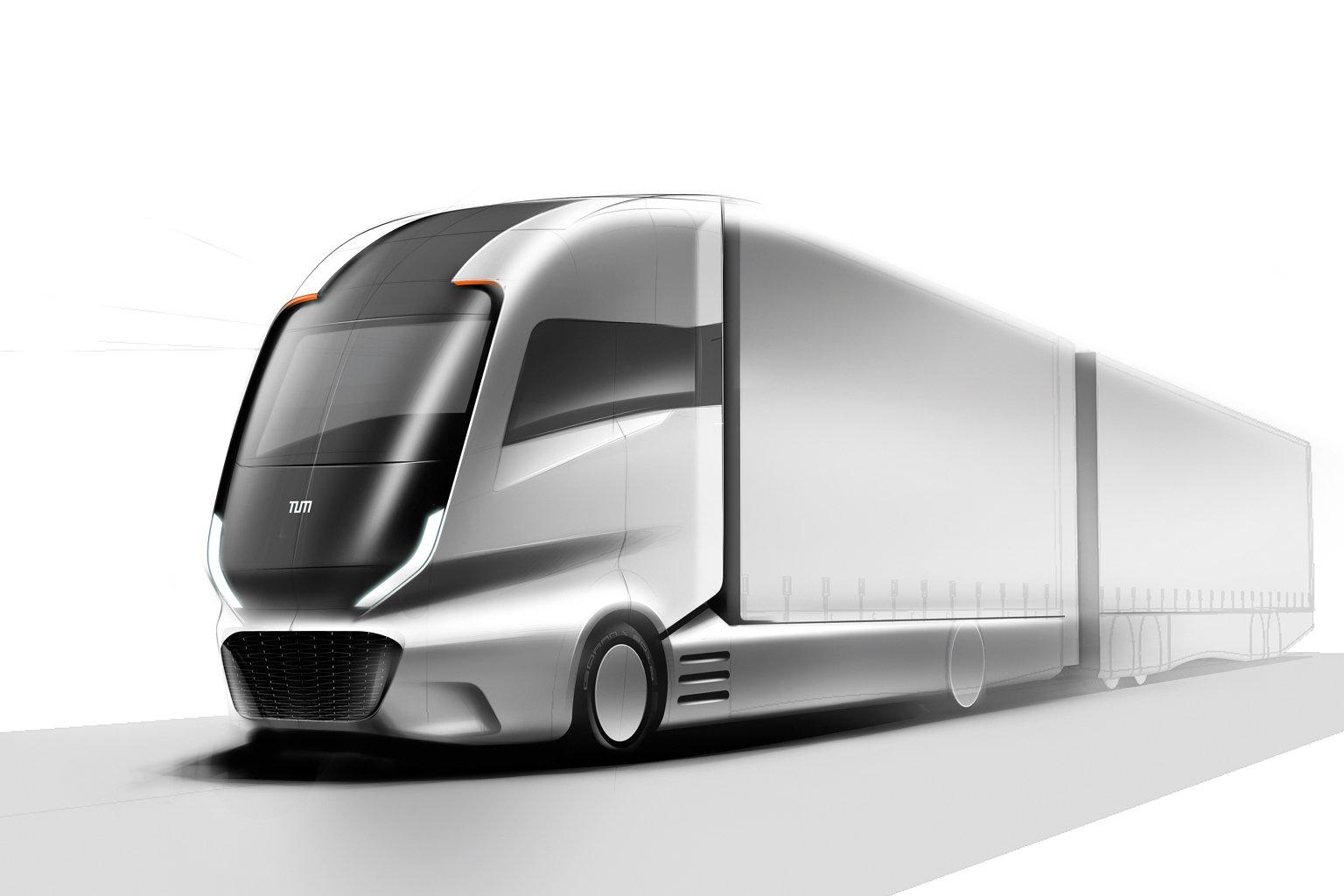 Truck 2030 sketch