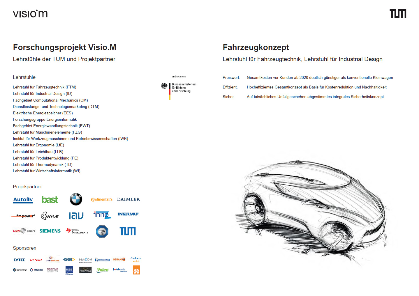 Visio.M Plakate Abschlussevent